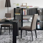 Calligaris Bess Chair Wood Legs